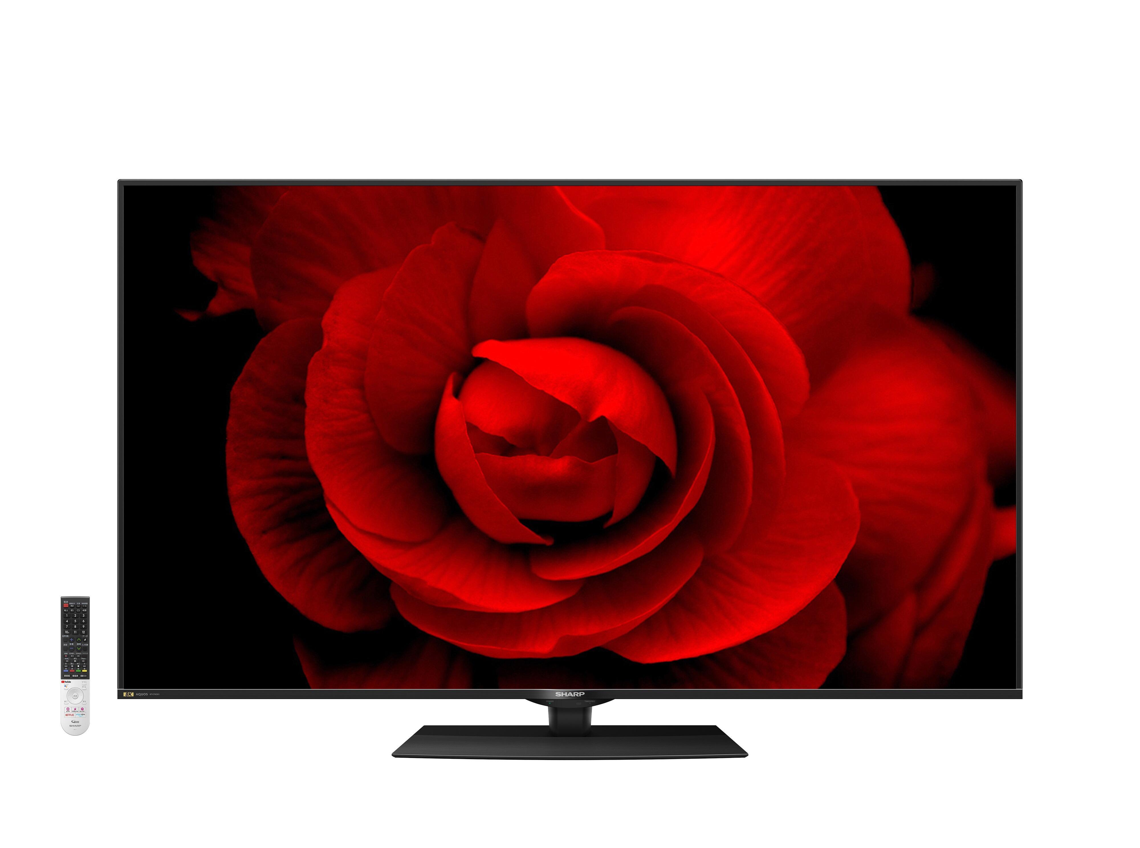 8K放送をより明るく鮮やかに楽しめる シャープの8K液晶テレビ