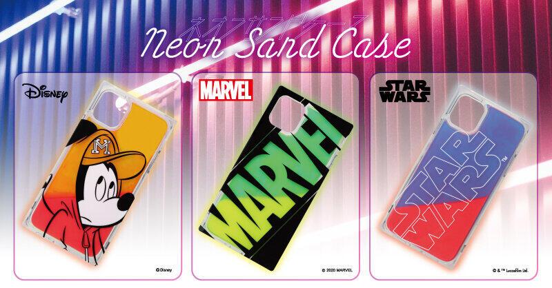 「ディズニー」「MARVEL」「STAR WARS」デザイン iPhoneケース