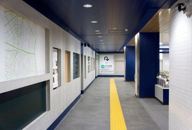 複数のスピーカーから出る音が一体に JR西日暮里駅構内にサウンドアート