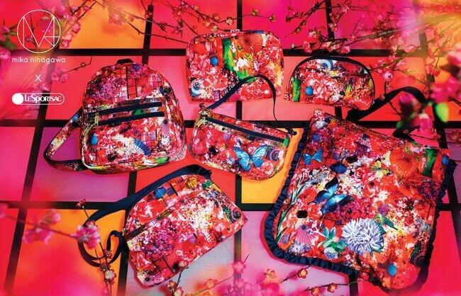 蜷川実花氏のブランド「M / mika ninagawa」とのコラボコレクション