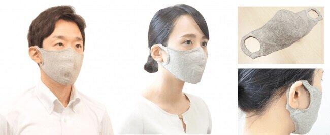 100回洗っても大丈夫な薄手の夏向けマスク 男女問わず使えてUVカット効果も期待