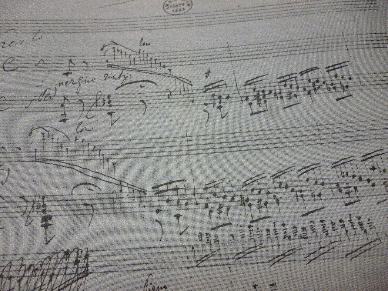 楽譜は何を伝えているか(1)