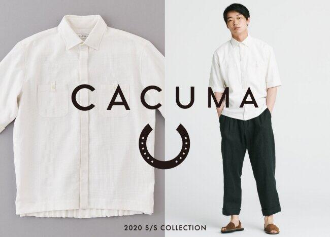 「CACUMA」初のメンズブランド