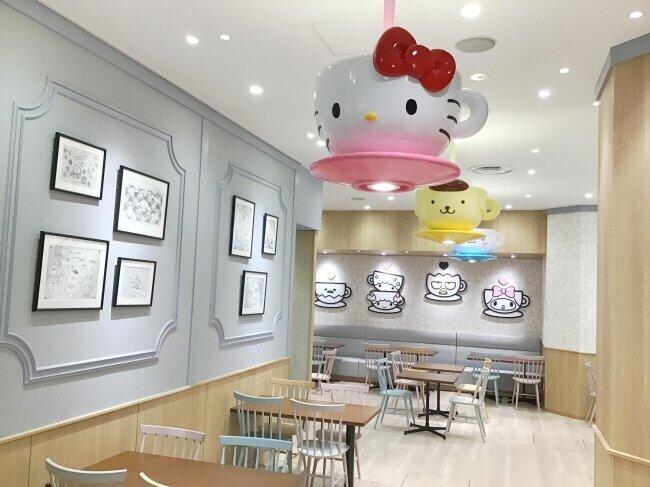 「SANRIO CAFE池袋店」 サンリオキャラクターのフード楽しめる
