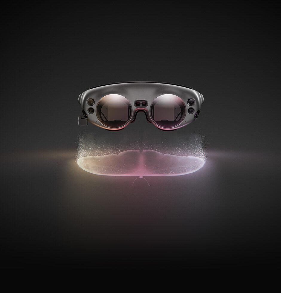 「複合現実」が体験できるウェアラブルヘッドセット