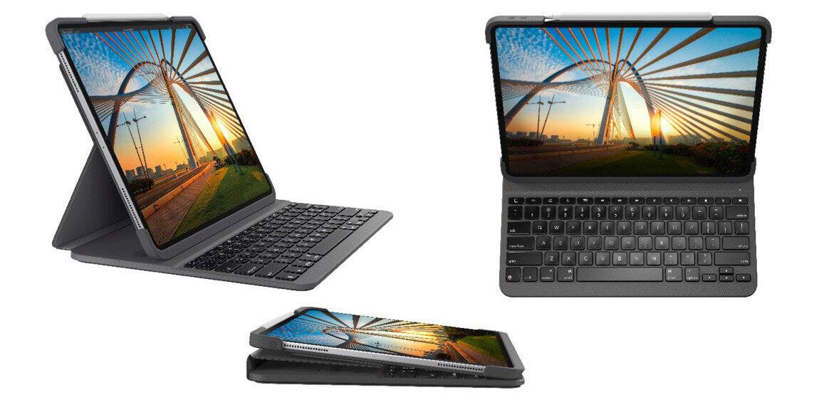 iPad Pro向けキーボード一体型ケース ノートPCのように文字入力できる