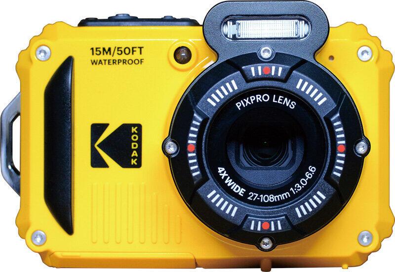 水深15メートルまで水圧に耐えられる コダックのスポーツカメラ