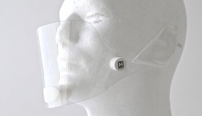 マスク着用の悩み解消したマウスシールド 暑さ軽減しつつ飛沫感染対策も