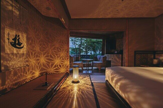 籠染灯籠や小田原風鈴で涼む ホテル雅叙園東京