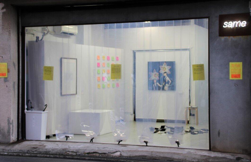 深夜のギャラリーに「泥棒」大集合 一夜限りの「盗めるアート展」ビフォー・アフター
