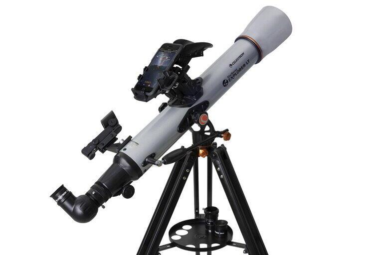 スマホと連携 ゲーム感覚で天体探しが楽しめる天体望遠鏡