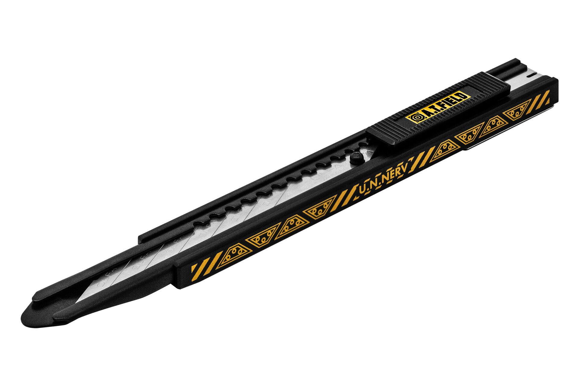 「エヴァンゲリオン」×オルファコラボ、「NERV」デザインのカッターナイフ&マット