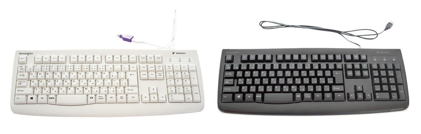複数ユーザーがキーボードを共有する環境でも安心な丸洗い対応
