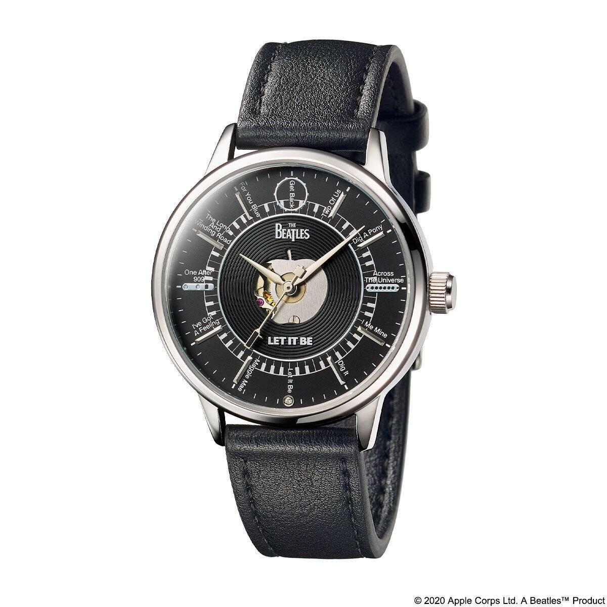 ザ・ビートルズのラストアルバム「LET IT BE」50周年記念の腕時計
