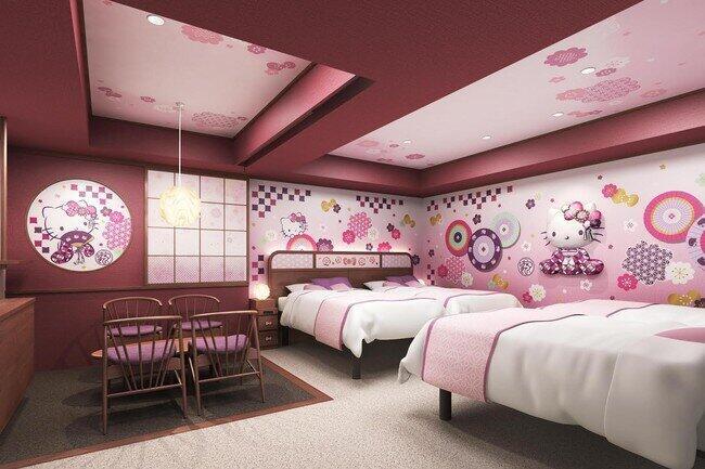 浅草東武ホテルに「ハローキティルーム」 東京23区内でここだけ