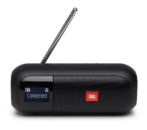 「JBL」からワイドFM対応チューナー内蔵Bluetoothスピーカー