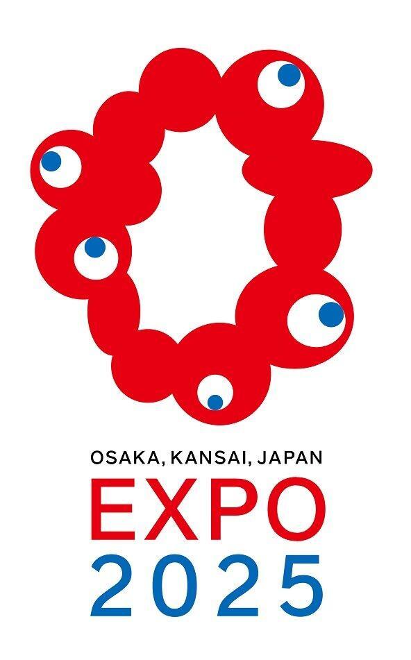 大阪・関西万博のロゴ「どこかでみたような」 キャラメルコーン?ポンデリング?