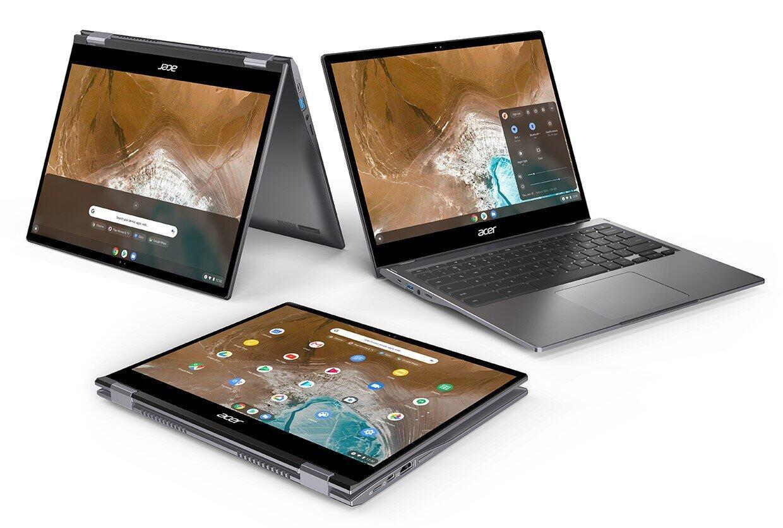 高速起動と安全性を両立 「Acer Chromebook」6モデル