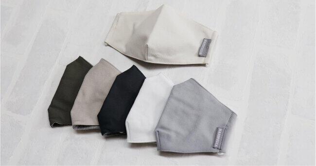 早くも「冬用マスク」着けるとじんわり温かく 防寒やノドの乾燥対策に