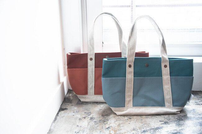 人気のトートバッグから受注生産の限定カラー