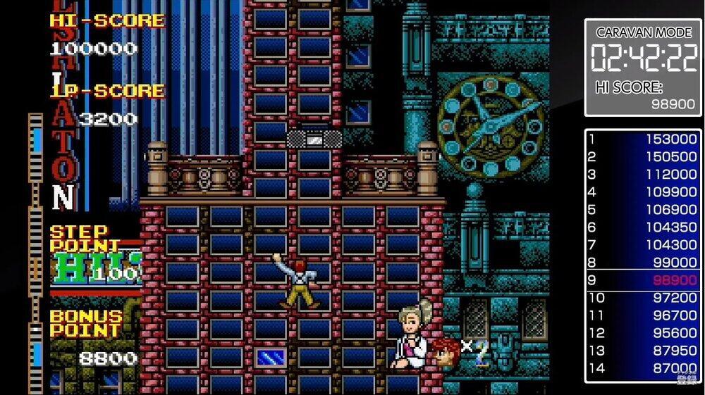 落下物やトラップをかわしてビルを登れ「クレイジー・クライマー2」【女子ゲーマーが挑む「不朽の名作ゲーム」(7)】