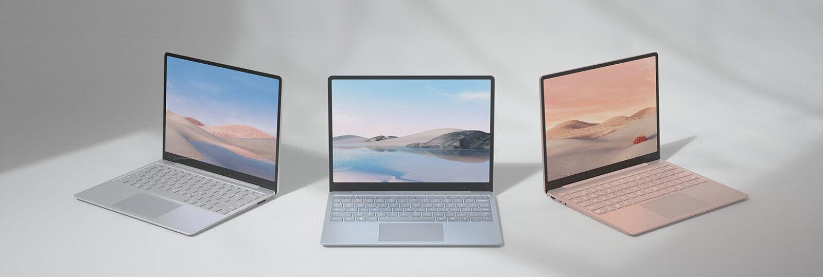 マイクロソフト「Surface」2モデル 「Surface Laptop Go」シリーズ最軽量