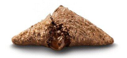 「三角チョコパイ」史上最大量のチョコクリーム マクドナルドから「黒」と「白」