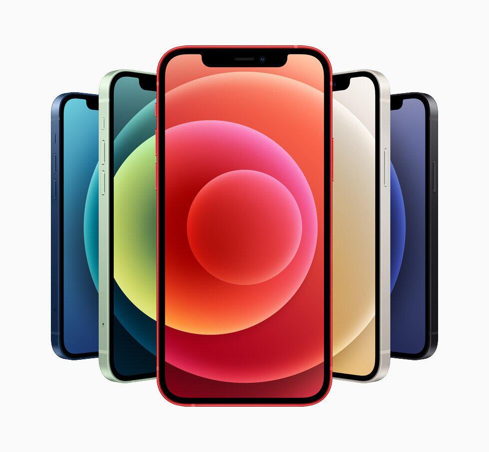 発売が発表された「iPhone12」(画像はアップル公式サイトより)
