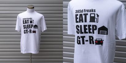 日産GT-Rファンの気持ちをデザインしたTシャツ