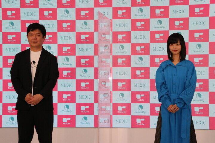 西上氏(左)と三戸さん