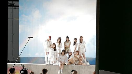 NiziU (c)Sony Music Entertainment (Japan) Inc./JYP Entertainment.
