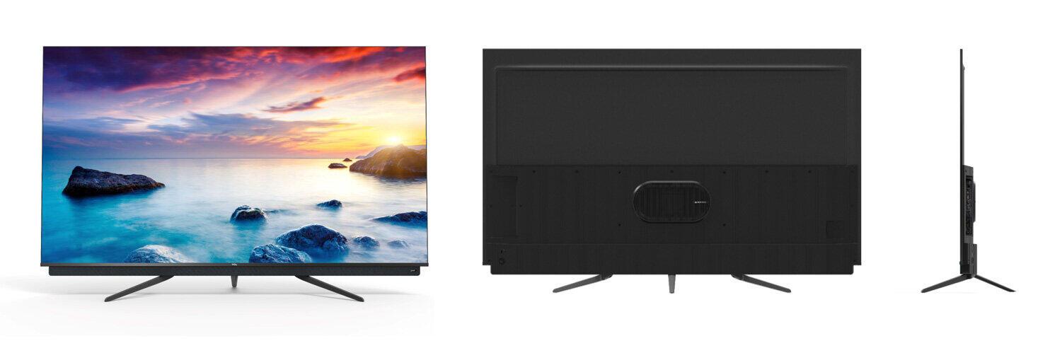 自然な色合いの「QLED」採用 「Android TV」搭載4Kスマートテレビ