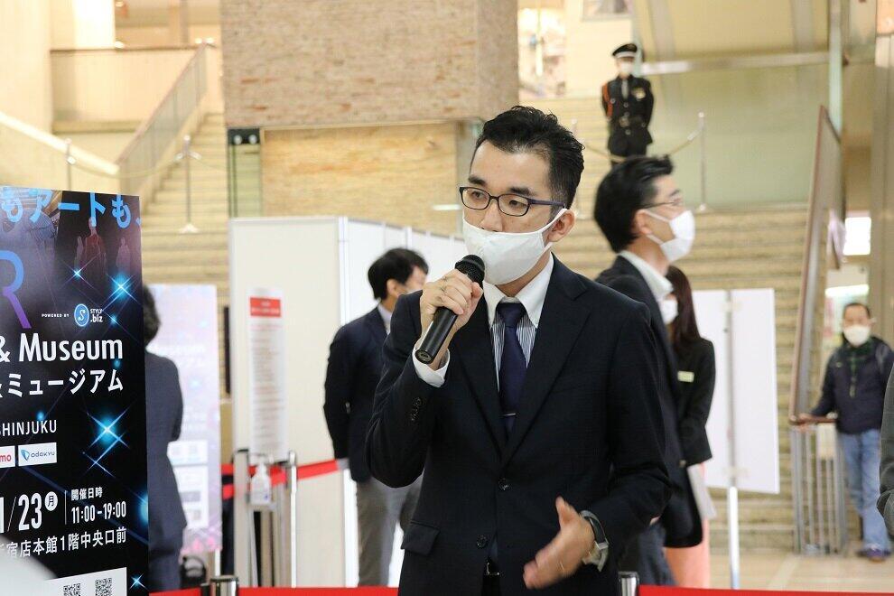 小田急電鉄生活創造事業本部・課長の北島大氏
