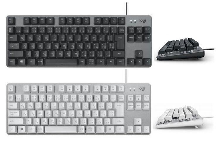 2種類のキースイッチから選べる 有線メカニカルキーボード「K835」