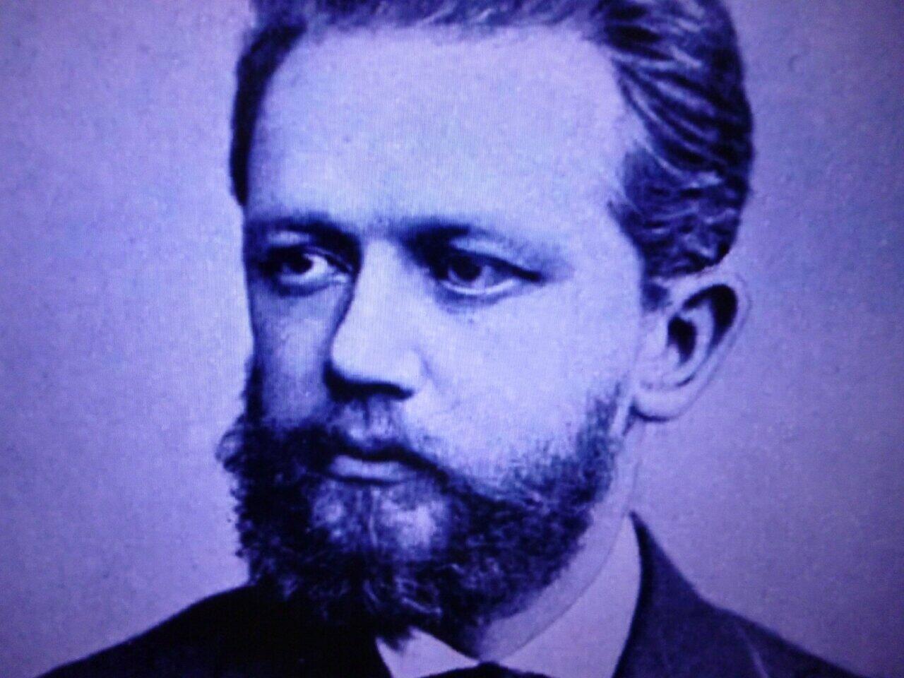 若きチャイコフスキーの肖像
