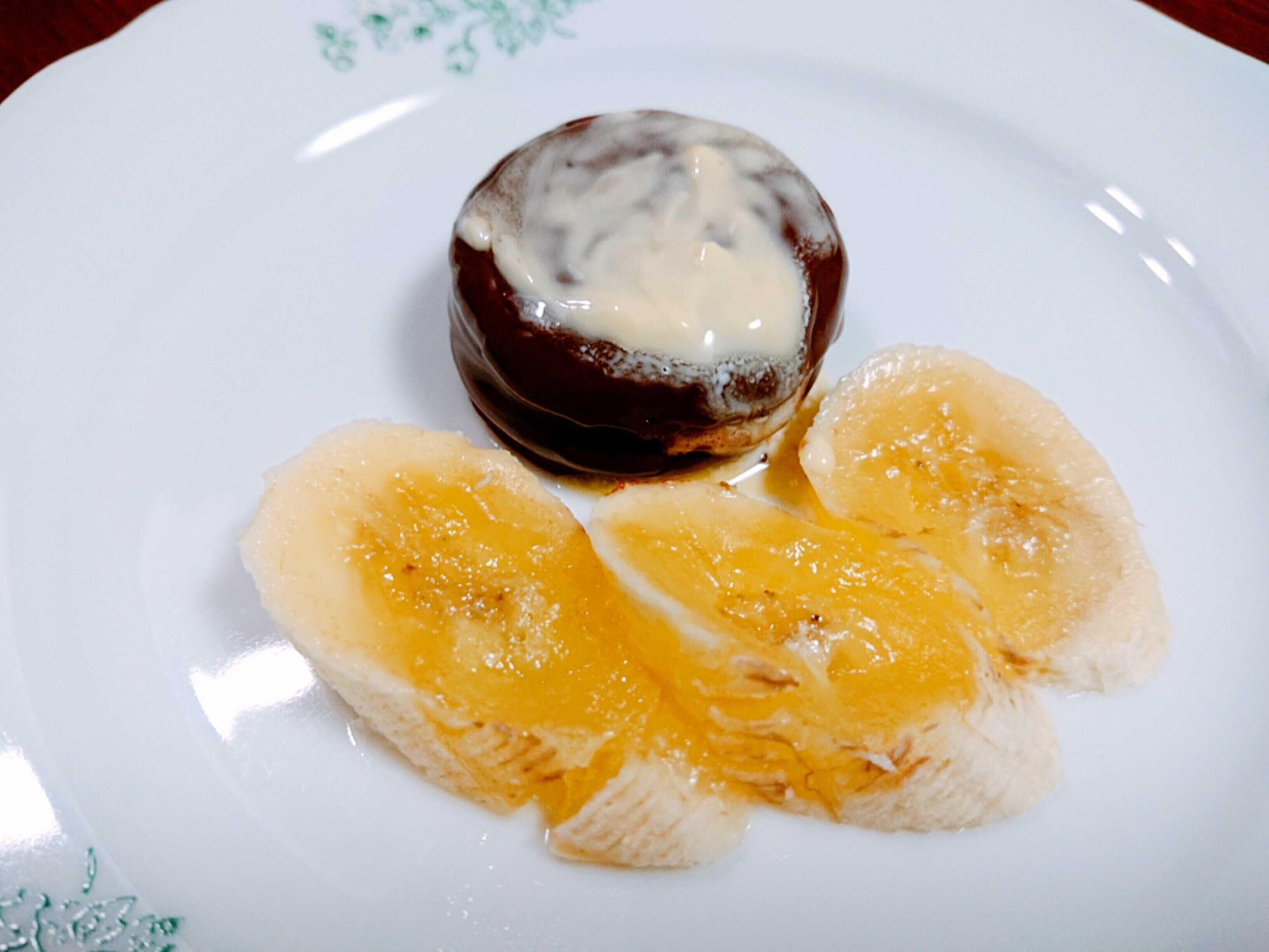 チョコパイ「ホットバナナバターアレンジ」