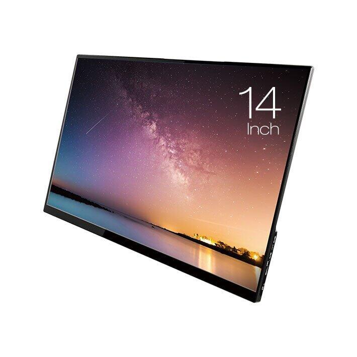 薄型軽量の14型モバイルディスプレー スマホやノートPCの画面を拡張