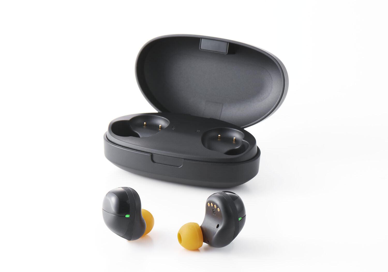 ノイキャン機能で騒音をカット 「デジタル耳せん」に完全ワイヤレス型モデル