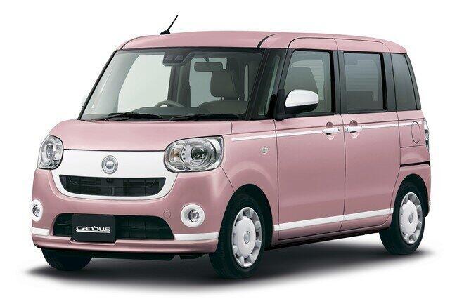 女性に人気の「ムーヴ キャンバス」に特別仕様車登場!