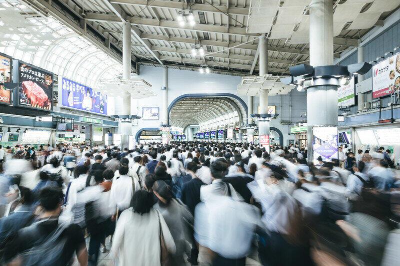 緊急事態宣言再発令も、満員電車なのか…(画像はイメージ)