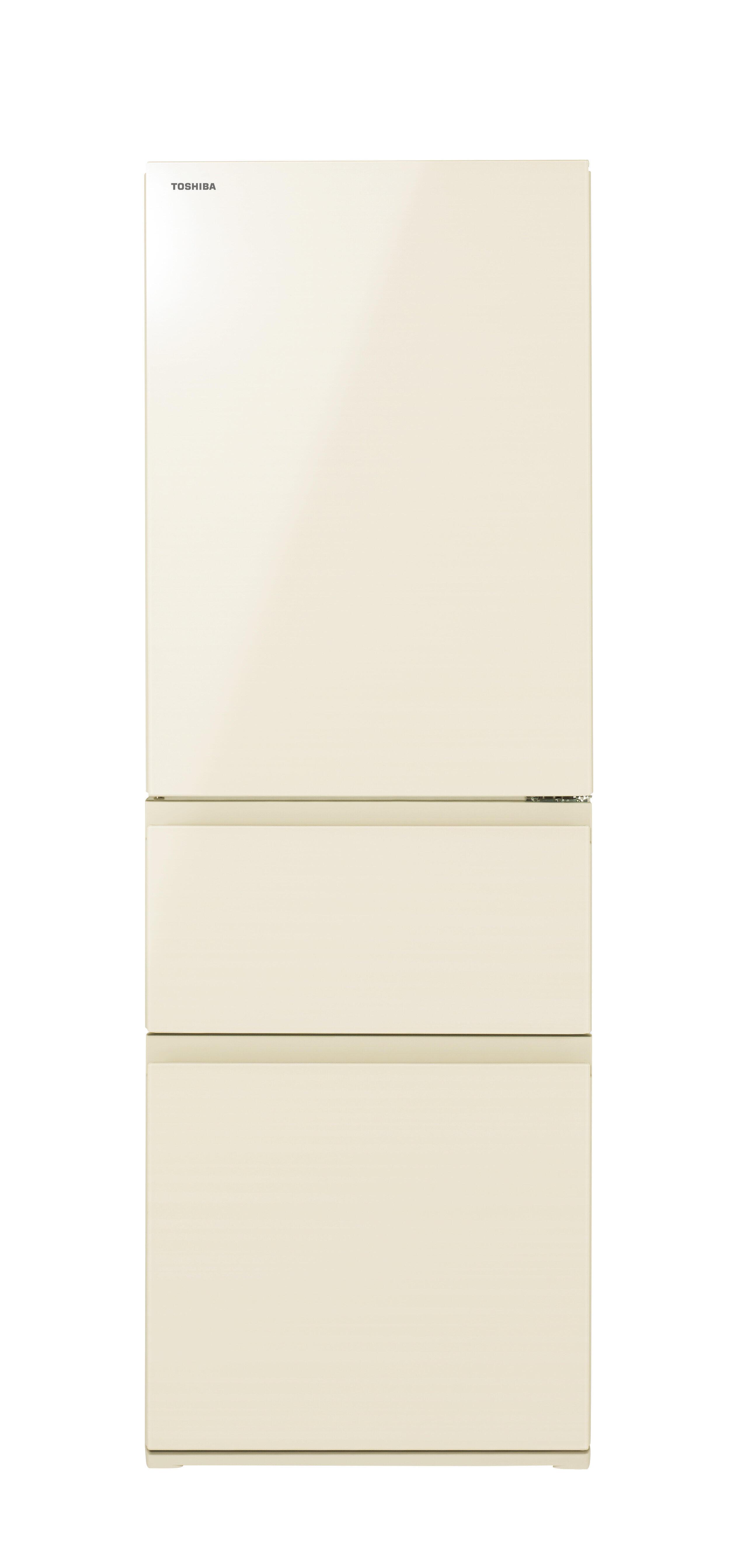 片手で高さ調節「フリードアポケット」 東芝の3ドア冷凍冷蔵庫「ベジータ」