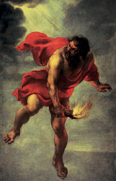 プロメテウスは多くの絵画のモチーフともなっている