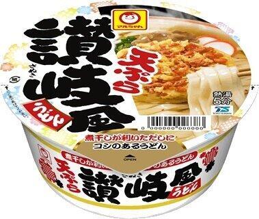 人気のご当地麺で旅行気分を 「マルちゃん 天ぷら讃岐風うどん」