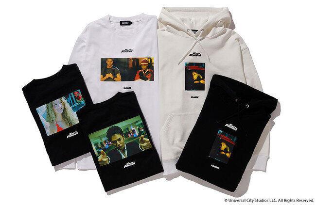 XLARGEと映画「ワイルド・スピード」がコラボ フードスウェットやロングスリーブTシャツ