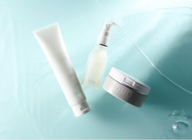 人気の「DUO」敏感ラインから 洗顔料と先行型美容液