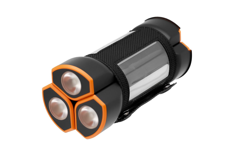 オウルテックからモバイルバッテリー3台セット LED懐中電灯を備えたスティック型