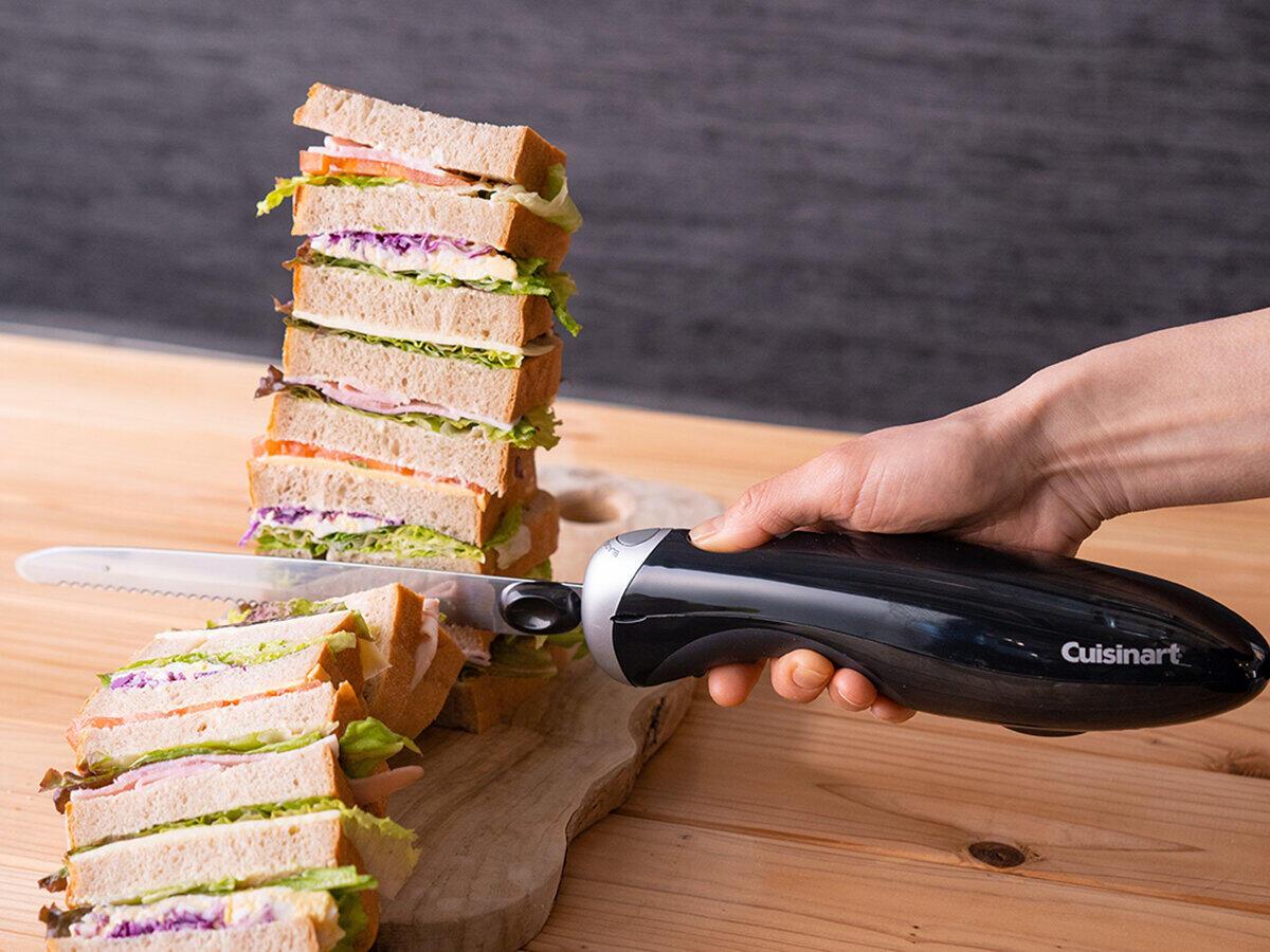 このナイフがあればインスタ映え!? きれいな断面で食材をカット