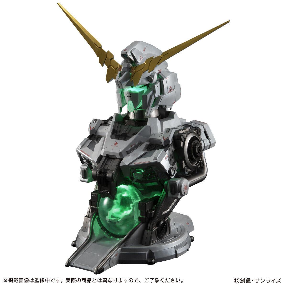 「ユニコーンガンダム」がガシャポンマシンに 変形&発光ギミック搭載
