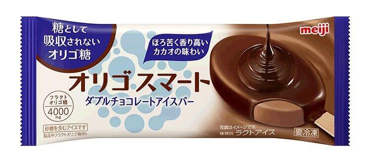 ビターチョコアイスをチョコで包む 明治「ダブルチョコレートアイスバー」
