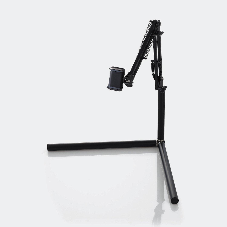 スマホをフレキシブルアームで固定 自在に位置調整して撮影できるスタンド